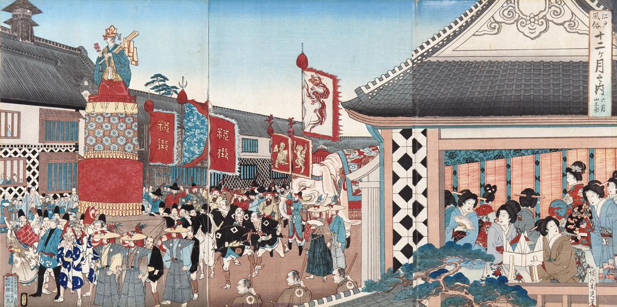 日本三大祭りの冠を誇る「山王祭」とは 山王際   東京街人
