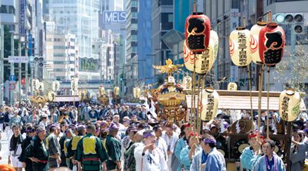 山王祭   東京街人